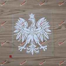 Amazon Com 6 Polish Eagle Coat Of Arms Of Poland Polski Decal Sticker Car Vinyl White Sda3 Arts Crafts Sewing