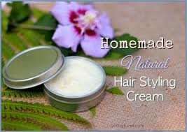 styling cream a nourishing and natural