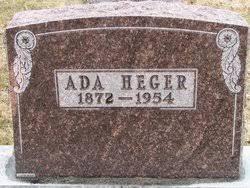 Ada Thompson Adams Heger (1872-1954) - Find A Grave Memorial
