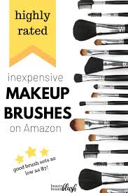 best rated makeup brushes on amazon