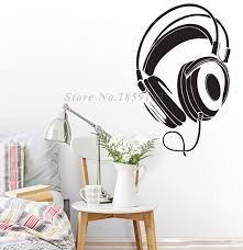 Best Top 10 Dj Headphones Wall Stickers Wall Ideas And Get Free Shipping D1a8dmc9