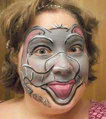 20 funny face painting ideas for your