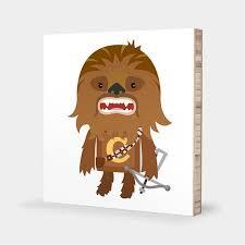 Star Wars Nursery Art Chewbacca Wall Art Star Wars Kids Etsy