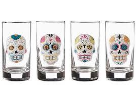 skull shot glass set cool gifts