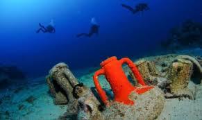 Risultato immagini per immagini di archeologia subacquea