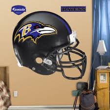 Baltimore Ravens Fathead Helmet Wall Decal
