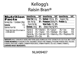 raisin bran was supposed to be healthy