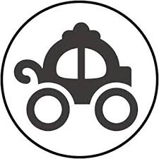 Amazon Com Simple Fairytale Fantasy Storybook Cartoon Icon Vinyl Decal Sticker 8 Wide Carriage Automotive