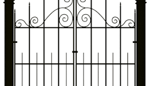 Spooky Fence Clipart