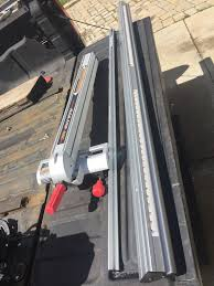 Craftsman Table Saw Align A Rip Xrc Fence Rails Great Shape 24 Left 30 Right Craftsman 259 99 Craftsman Table Saw Table Saws For Sale Home Workshop