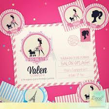 Tarjetas De Invitacion De Cumpleanos De Barbie Compartir Tarjeta