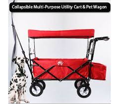 pet care premium foldable wagon