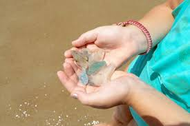 how to find sea glass in okinawa sea