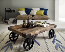 Rustikaler Couchtisch Holz Vintage