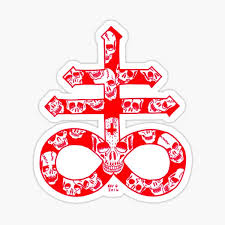 Leviathan Cross Stickers Redbubble