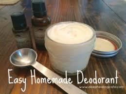 easy homemade deodorant deep healing cafe