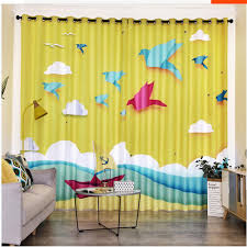 2020 Customized 3d Curtains Cute Cartoon Childrens Room Boy Girl Bedroom Kid Room Bay Window French Window Blackout Curtains From Wallpaper01 201 01 Dhgate Com