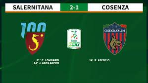 12a giornata Serie BKT - Salernitana-Cosenza - Lega B