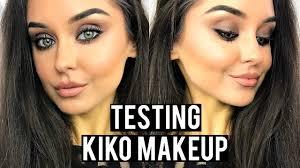 testing kiko makeup holiday 2016