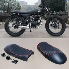 black hump custom cafe racer seat