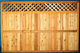 5 4 X 8 Cedar Diamond Lattice Top Fence Panel At Menards 5 4 X 8 Cedar Diamond Lattice Top Fence Panel Fence With Lattice Top Fence Panels Fence Design