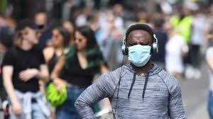 ماسک بزنید خطر ابتلا به کرونا