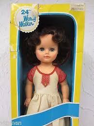 "Vintage Wendy Walker Doll 24"" Tall, Articulated Doll, Original Box, Eyelids  | Vintage toys, Dolls, Doll toys"