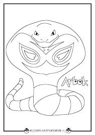 Arbok Kleurplaten Downloaden Kleurplaat Pokemon