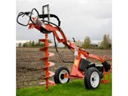 Hydraulic Post Hole Borer Hire National Tool Hire Shops
