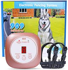 Amazon Com Yhpoylp Wireless Dog Fence Electric Pet Containment System In Ground Dog Fence Design Underground Hidden Dog Fence Waterproof Rechargeable Collar Easy Setup 2 Dog System Pet Supplies