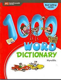 1000 WORDS DICTIONARY [Unknown Binding] MYRA ELLIS: MYRA ELLIS: Amazon.sg:  Books