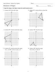 rotations of shapes kuta