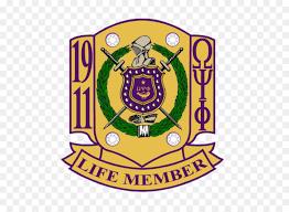 omega psi phi life membership clipart