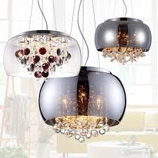 modern glass lampshade crystal