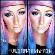 anime makeup tutorial chrisspy makeup