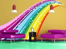 Rainbow Wall Mural Decal Sticker Rainbow Wall Mural Decal Sticker Zoey Wld Loooove This In 2020 Rainbow Wall Decal Rainbow Bedroom Rainbow Wall Stickers