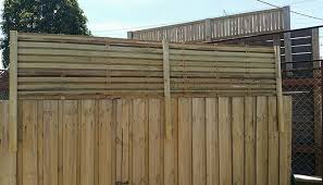2400 X 500 Hardwood Corral Fence Extension Screening Solutions By Lattice Factory