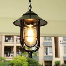 glass outdoor ceiling pendant lights
