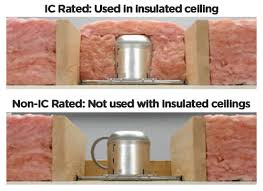 ic rating of recessed lights