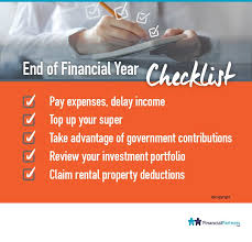 end of financial year checklist financial quotes investment