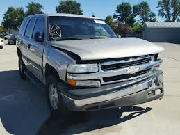 used parts 2005 chevrolet tahoe 4 8l