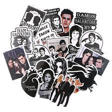 20 Pcs Set The Vampire Diaries Stickers Skateboard Punk Vinyl Sticker Laptop Luggage Car Decals Funny Sticker Bedroom Decor M4158 Wish
