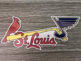 The Blues Cardinals Car Decal Is St Louis Cardinals Gameday Nation Facebook