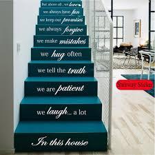 art quotes sentence wall sticker mirror adesivi bts custom home