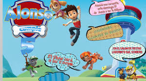 Invitacion En Video Paw Patrol Para Ninos Youtube