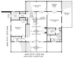 two bedroom two bathroom house plans
