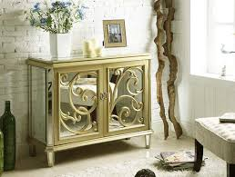 gold bedroom mirrored furniture