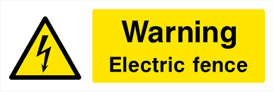 Other Public Safety Equipment Danger Electric Fence Hazard Sign Or Sticker 300mm X 100mm Warning Security Avalonpromo Co Nz