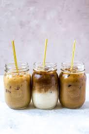 3 iced coffee recipes caramel vanilla
