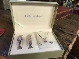 cote d azur watch bracelet necklace
